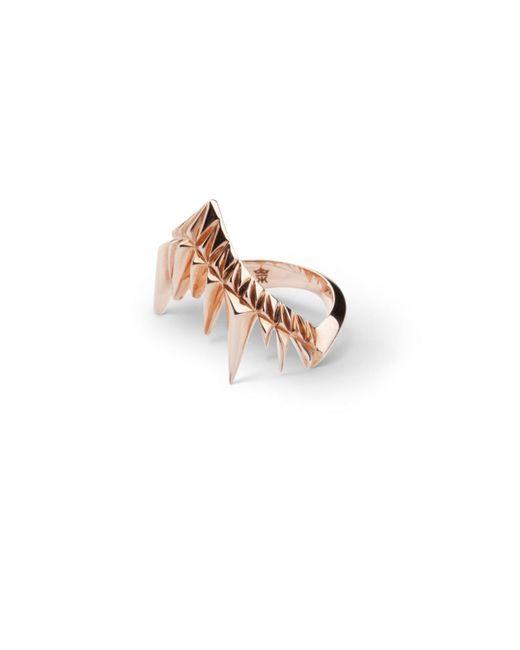 Kasun - Metallic Eye Of Poseidon Ring Gold & Tigers Eye - Lyst