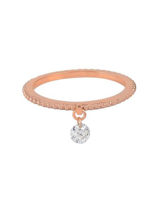Artisan - Metallic 14k Rose Gold Designer Diamond Ring - Lyst