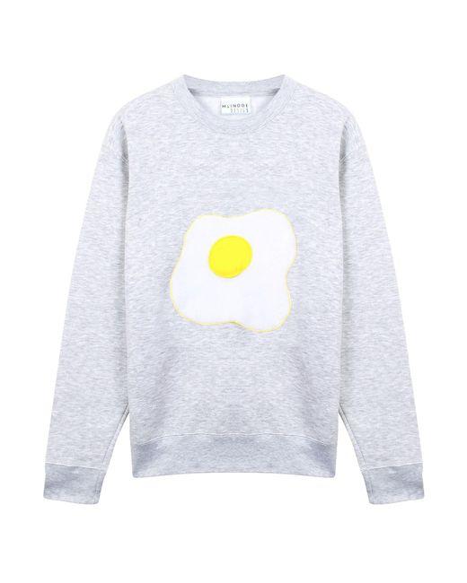 McIndoe Design | Gray Grey Egg Sweatshirt | Lyst