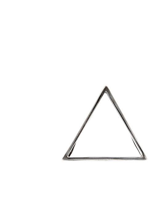 Glenda López - Metallic The Silver Triangle Clip - Lyst