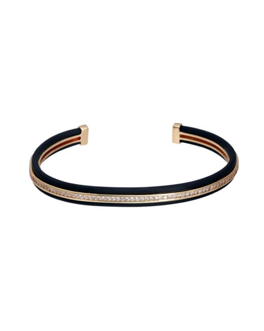Opes Robur - Metallic Gold & Black Stopper Stackable for Men - Lyst