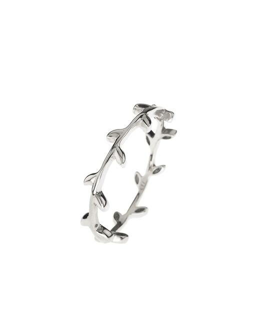 Latelita London - Metallic Cosmic Branch Ring Silver - Lyst