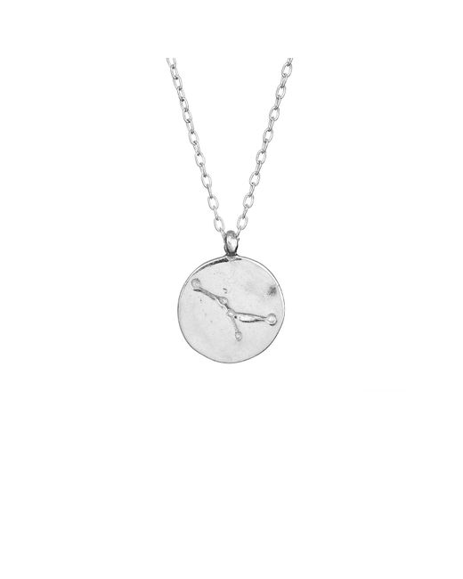 Chupi - Metallic Cancer We Are All Made Of Stars Star Sign Necklace In Silver - Lyst