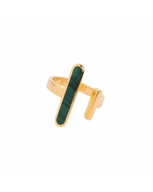 KIMSU - Metallic 18k Vermeil Gold Open Ring - Lyst