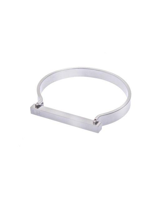 Opes Robur | Metallic Silver Omega Cuff | Lyst