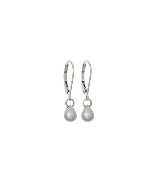 Edge Only | Metallic Triple Bolt Earrings Silver | Lyst