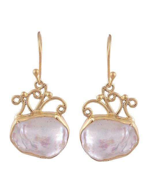 Carousel Jewels - Multicolor Delicate Vermeil Natural Drop Earrings - Lyst