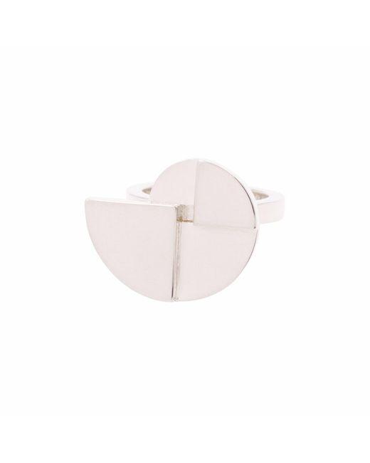 KIMSU - Metallic Sterling Silver Gira Ring - Lyst