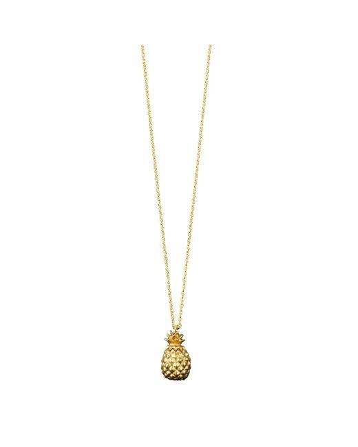 Catherine Zoraida | Metallic Pineapple Locket Necklace | Lyst