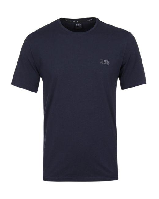 BOSS - Blue Mix & Match Navy Crew Neck T-shirt for Men - Lyst