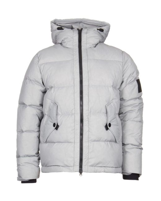 efbcc769a Men's Offense Gray Hooded Down Jacket