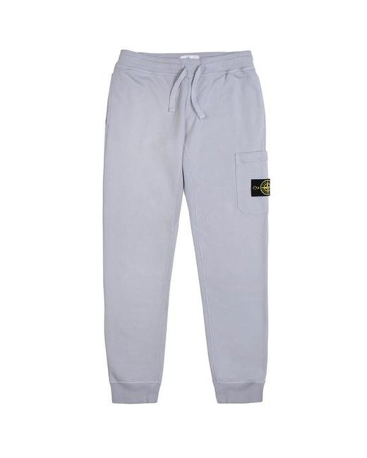 Stone Island - Purple French Terry Pocket Sweatpants for Men - Lyst