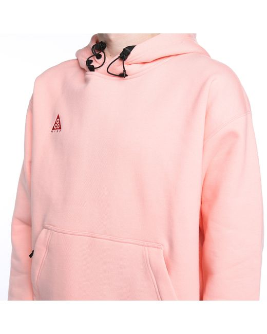 best sneakers a8be4 960f4 ... Nike - Pink Nrg Acg Pullover Hoodie for Men - Lyst ...
