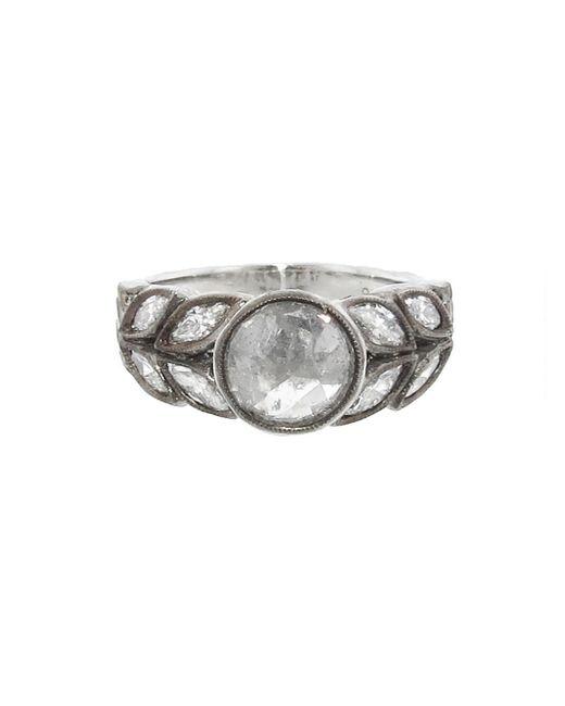 Cathy Waterman - Multicolor Round Rose Cut Diamond Garland Ring - Lyst