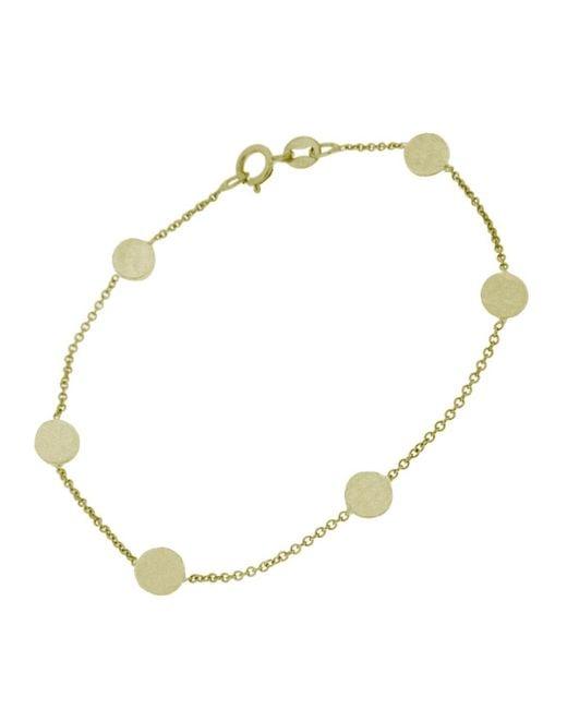 Jennifer Meyer - Metallic Circle Chain Bracelet - Lyst