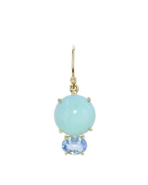 Irene Neuwirth - Multicolor One-of-a-kind Peruvian Opal And Aqua Single Earring - Lyst