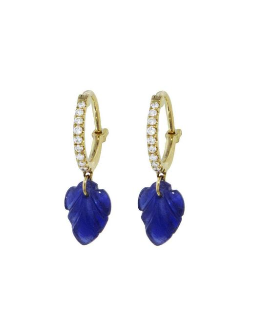 Raphaele Canot - Multicolor Set Free Sapphire Leaf Earrings - Lyst