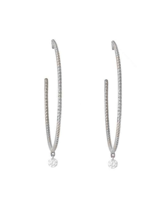 Raphaele Canot - Multicolor Set Free Large Diamond Hoop Earrings - Lyst