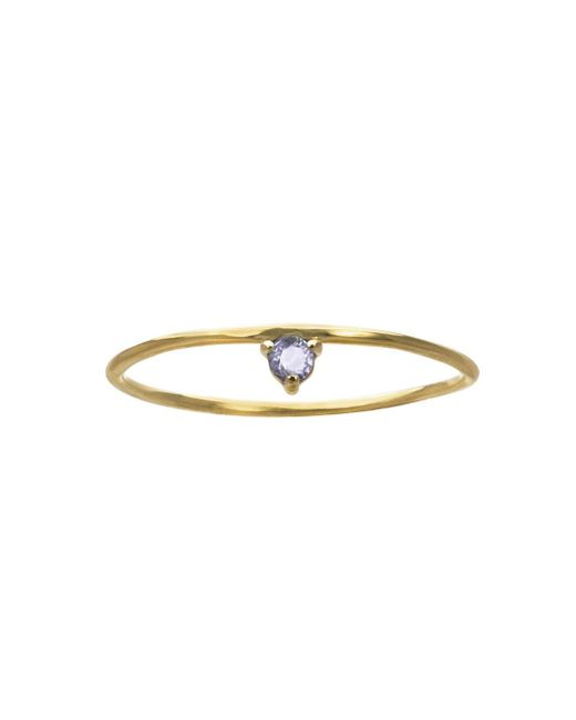 Wwake - Multicolor One-step Tonal Sapphire Ring - Lyst