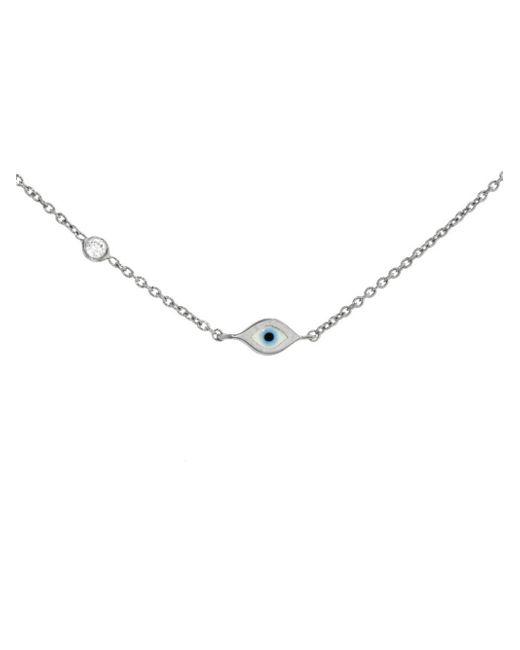 Sydney Evan - Multicolor Mini Enamel Evil Eye Bracelet - Lyst