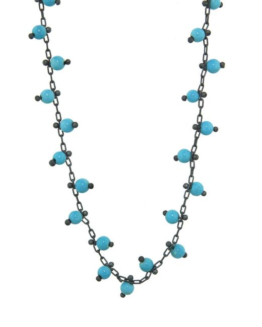 Ten Thousand Things - Blue Double Studded Turquoise Chain Choker Necklace - Lyst