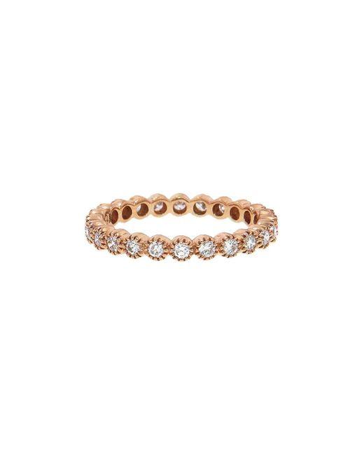 Sethi Couture - Multicolor White Diamond Bezel Band Ring - Lyst