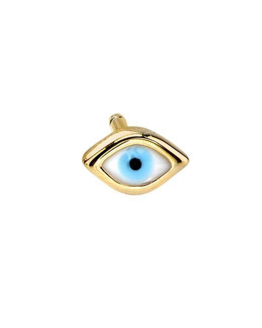 Sydney Evan - Multicolor Mini Enamel Evil Eye Stud Earring - Lyst