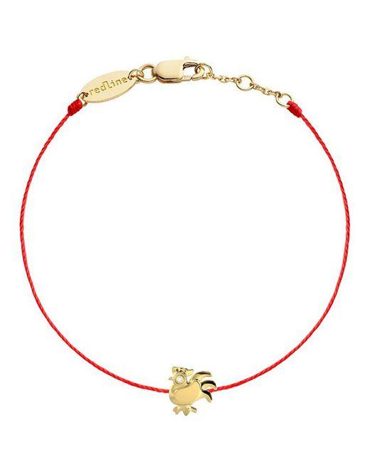 RedLine - Metallic Diamond Rooster Red Bracelet - Lyst