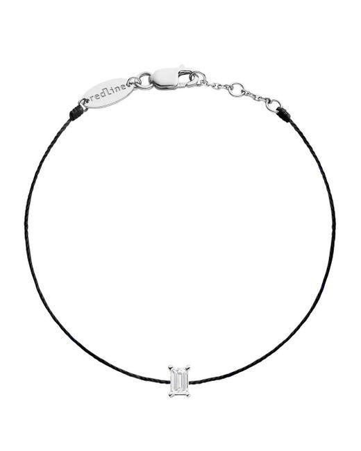 RedLine - Metallic Comtesse Baguette Diamond Black Bracelet - Lyst