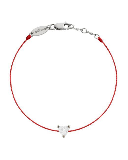 RedLine - Multicolor Diamond Heart Red Bracelet - Lyst