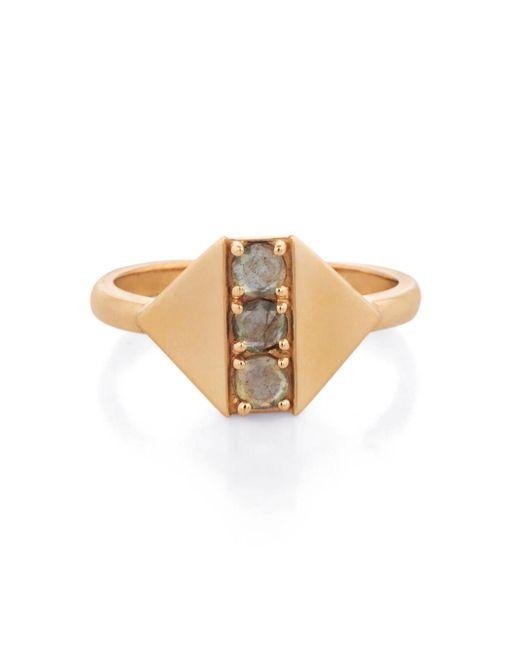 Larisa Laivins - Multicolor Jordan Labradorite Ring - Lyst
