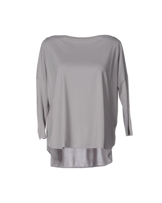 Snobby Sheep - Gray T-shirts - Lyst
