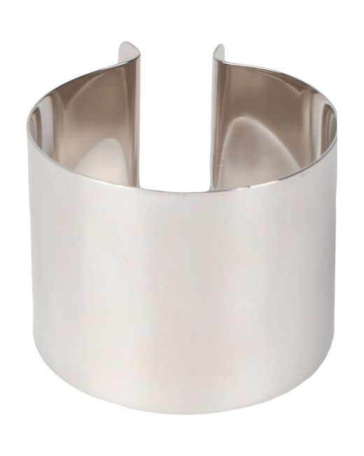 MM6 by Maison Martin Margiela - Metallic Bracelet - Lyst