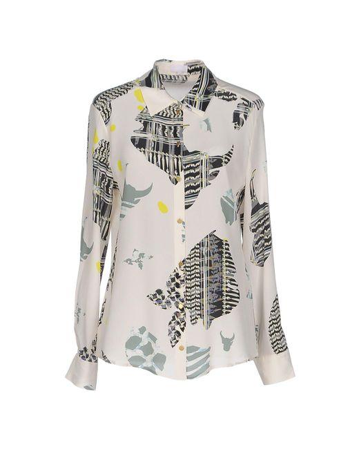 Lala Berlin | Natural Shirt | Lyst