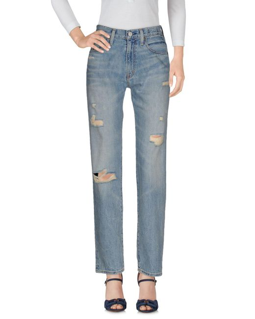 Denim & Supply Ralph Lauren - Blue Denim Trousers - Lyst