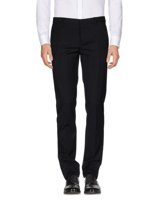 Mauro Grifoni Black Casual Trouser for men