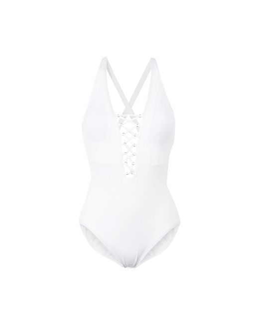 MICHAEL Michael Kors - White One-piece Swimsuits - Lyst