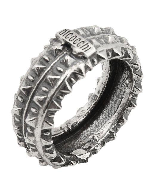 Emanuele Bicocchi - Metallic Ring for Men - Lyst