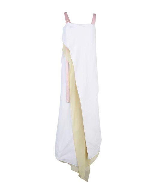 Sies Marjan - White Long Dress - Lyst