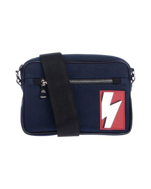 Neil Barrett - Blue Cross-body Bag for Men - Lyst