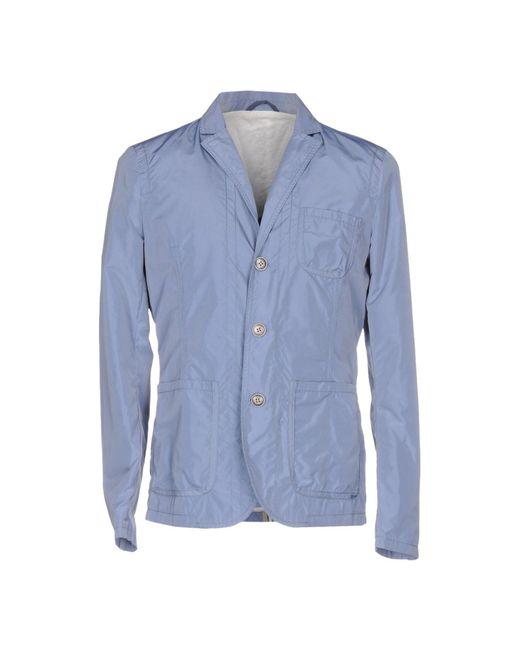 Paolo Pecora - Blue Blazer for Men - Lyst