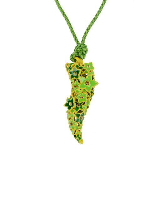 Roberto Cavalli - Green Necklaces - Lyst