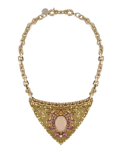 Matthew Williamson - Metallic Necklace - Lyst