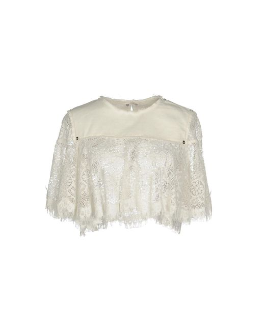 McQ Alexander McQueen - White Blouses - Lyst