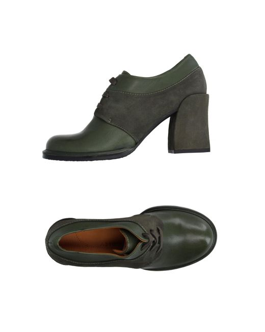 Audley | Green Lace-up Shoe | Lyst