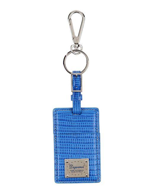 DSquared² - Blue Key Ring - Lyst