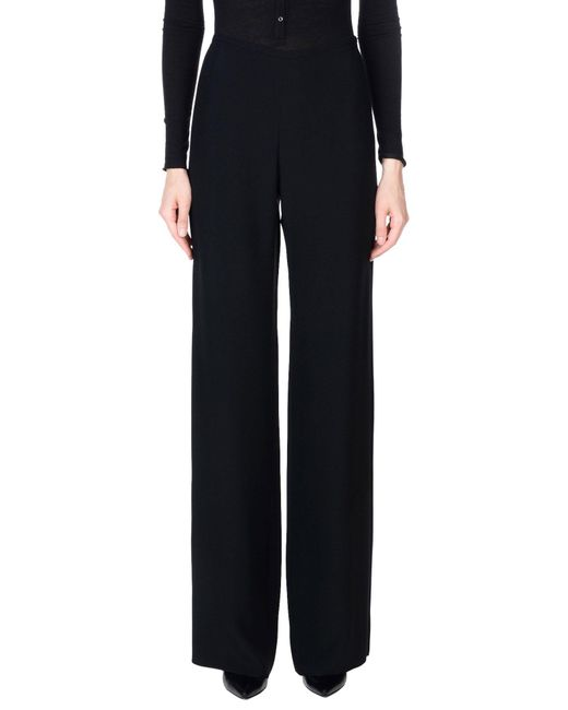 Armani - Black Casual Trouser - Lyst