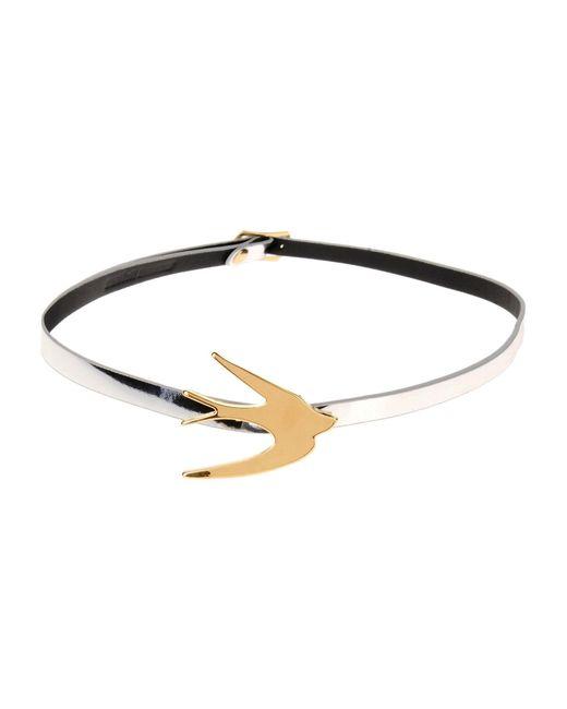 McQ Alexander McQueen | Metallic Bracelet | Lyst