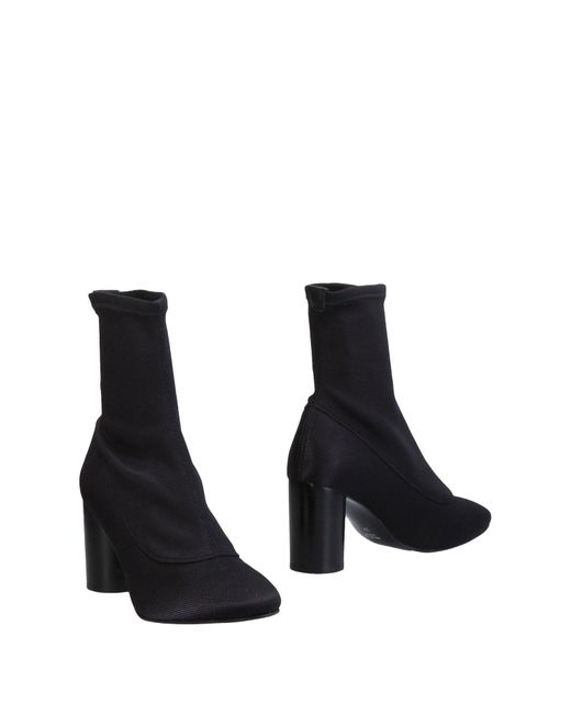 """intentionally_______."" - Black Ankle Boots - Lyst"