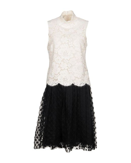 Philosophy Di Lorenzo Serafini - White Knee-length Dress - Lyst